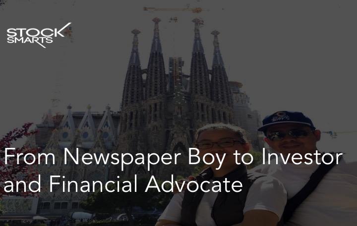 Newspaper boy to millionaire
