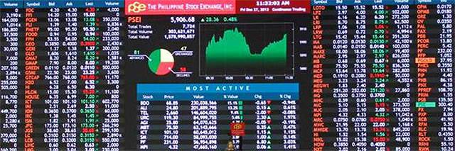 PSEI Ticker Stocks