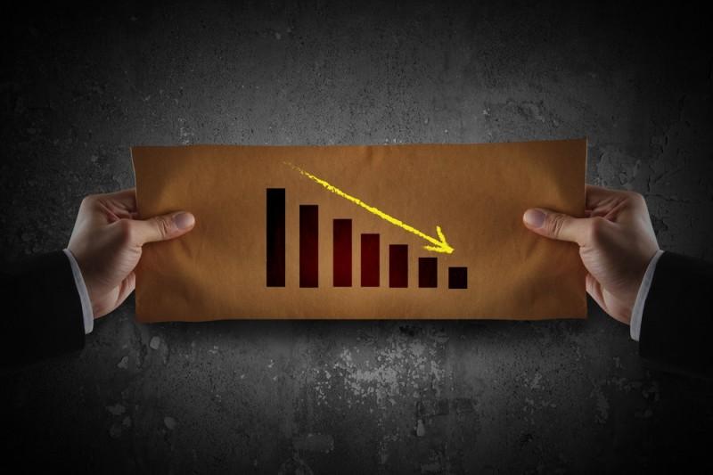 Stocks downward