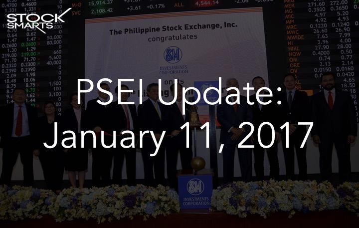 PSEI Update