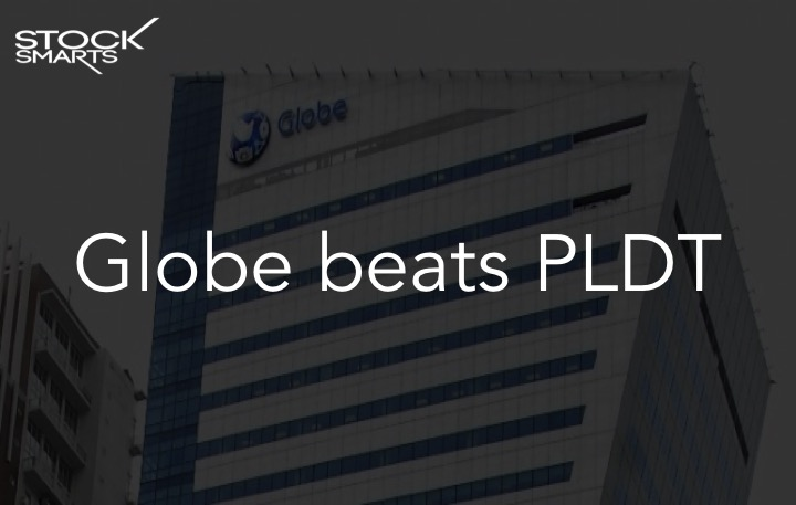 Globe beats PLDT