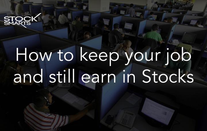 Earn in stocks