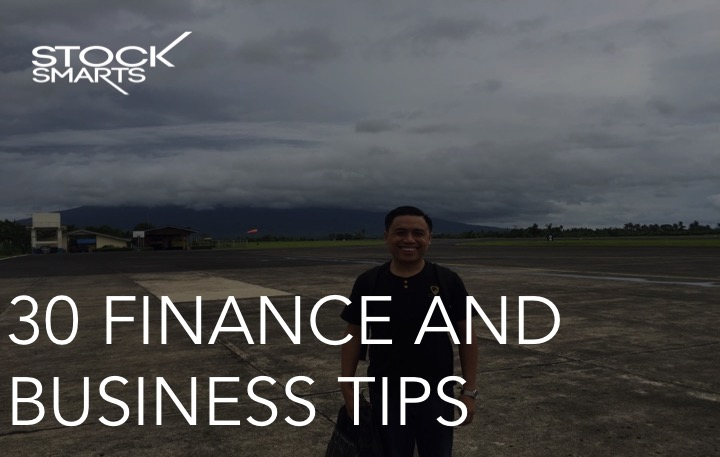 30 FINANCE AND BUSINESS TIPS