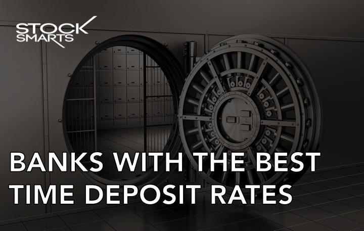 Banks with the best time deposit rates