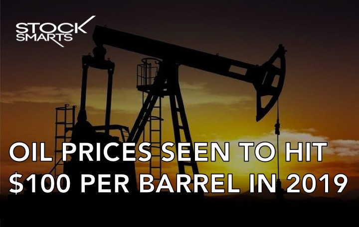 Oil prices to hit 100